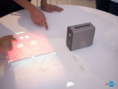 Sony shows Android-based, touch-enabled projector concept ...