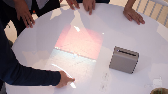 The Sony Xperia Projector could one day be your living room's entertainment hub - Sony shows Android-based, touch-enabled projector concept at IFA 2016, and we got to try it