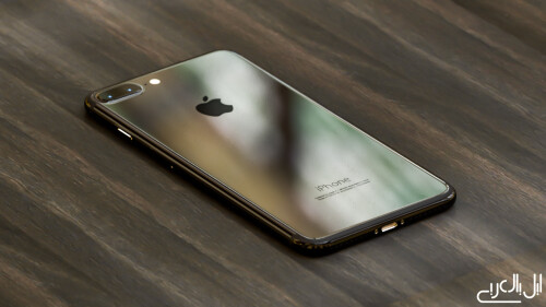 iPhone 7 Plus imagined in Dark Black and Piano Black