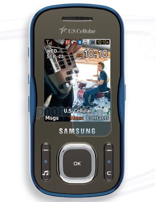 Samsung Trill R520 - The Samsung Caliber and Trill roll out through US Cellular soon