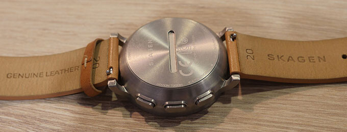 An easy-open back helps facilitate battery changes - Skagen Hagen Connected: hands-on with the seriously analog-looking hybrid smartwatch