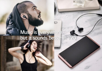 The LG V20 is tuned by Bang & Olufsen for clear sound