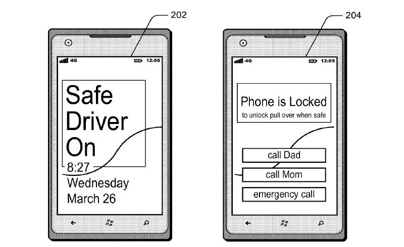 Microsoft looking to crack down on using your phone while driving with new patent