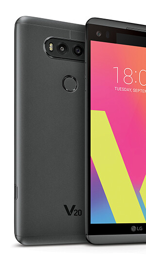 """Quad DACs and mics that record loud sound well - LG V20 goes official: Android Nougat, 5.7"""" with Second Screen, larger battery and focus on sound"""