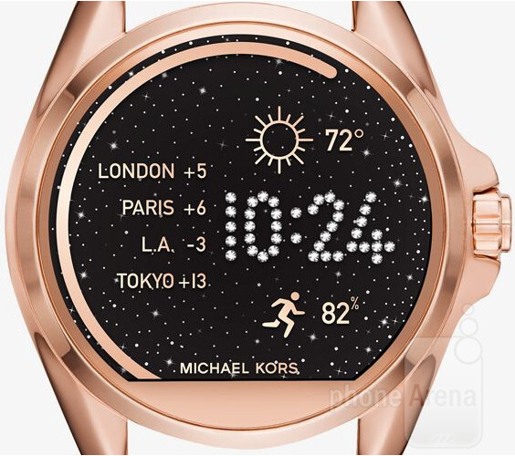 Michael Kors introduces its first Android Wear smartwatches