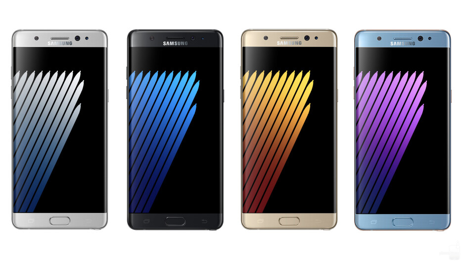 Samsung might use color variations to increase Galaxy Note 7 sales after recall