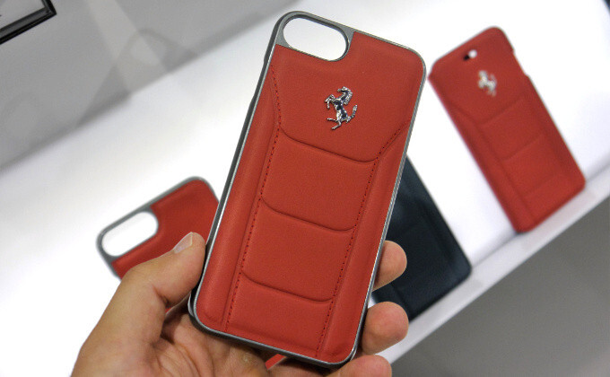 Not enough cash for a Ferrari? $40 buys you this Ferrari red leather iPhone case