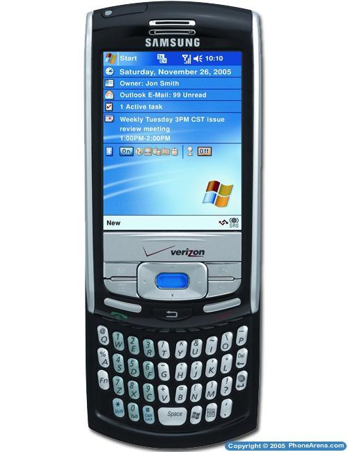 Verizon Announces Windows Mobile Smartphone Samsung Sch