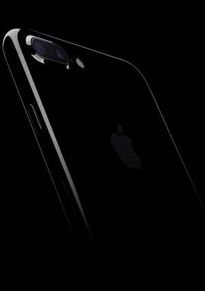 The iPhone 7 and 7 Plus come in Jet Black - Apple announces iPhone 7 and iPhone 7 Plus: gorgeous new design, revolutionary camera, water-resistant