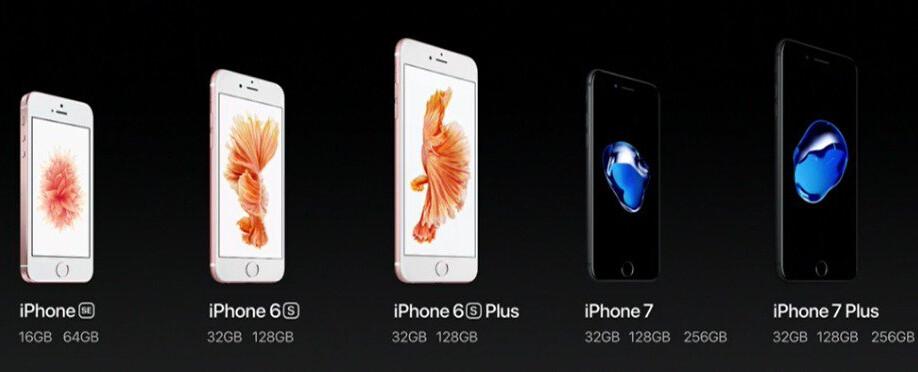 Apple slashes iPhone 6s prices, upgrades storage options