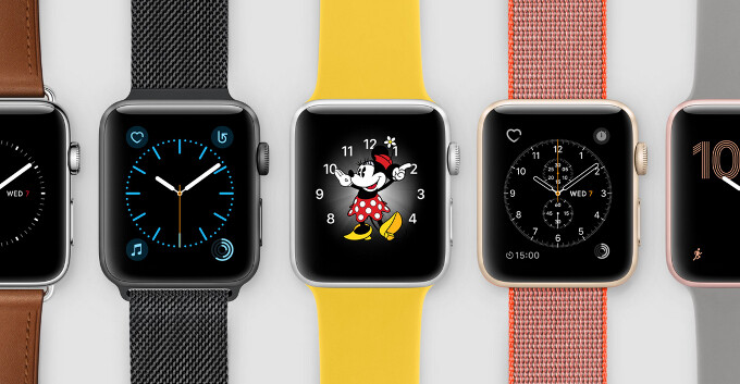Back in all of its glory: here are all the official Apple Watch Series 2 images
