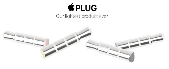 'Apple Plug' brilliantly trolls iPhone 7's headphone jack removal