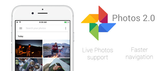 Google Photos for iOS updated with Motion Stills digital stabilization