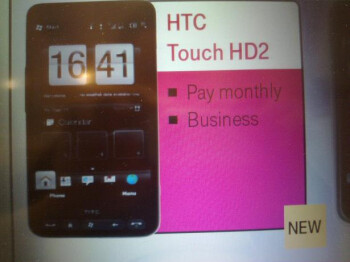 HTC Touch HD2 bound for T-Mobile UK - gets pictured