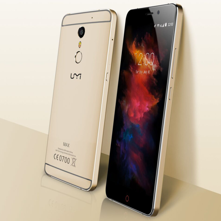 The UMi Max was at IFA 2016 to showcase its metal body and hefty battery