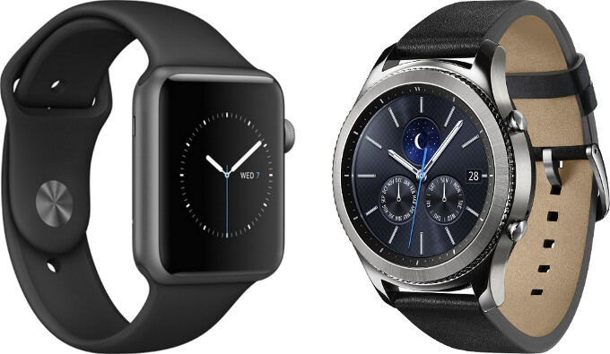 Smartwatch poll: would you rather be seen with an Apple Watch or Samsung Gear S3?