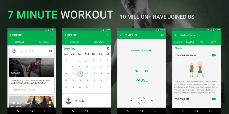 5 excellent fitness and dieting apps for Android and iOS