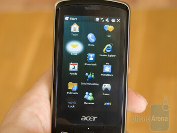 Hands-on with the Acer beTouch E200