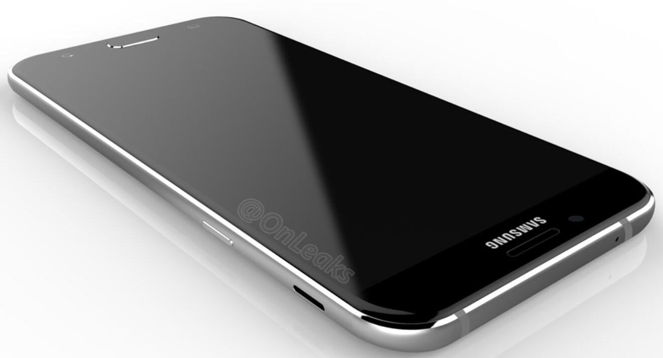 Samsung Galaxy A8 2016 Surfaces On Antutu Renders Leak