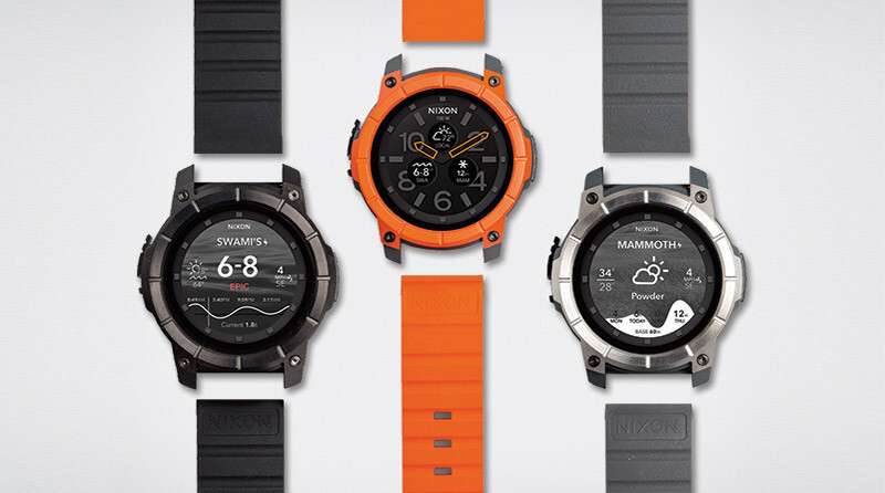 The Nixon Mission costs $400, and it's basically a super-rugged Moto 360