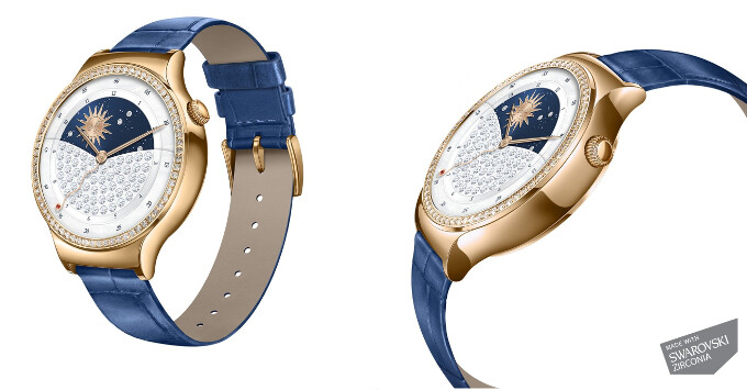 This Huawei smartwatch with Swarovski crystals sells for $343 on Amazon right now, 43% off