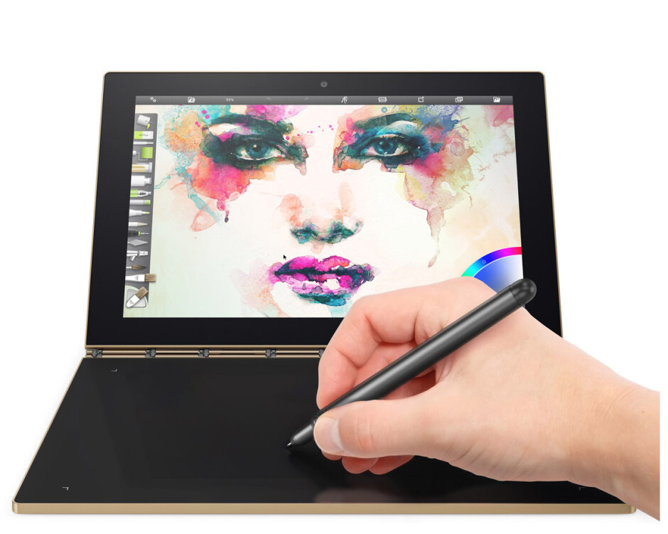The Lenovo Yoga Book is now up for pre-order in the UK; starts at  £429.99