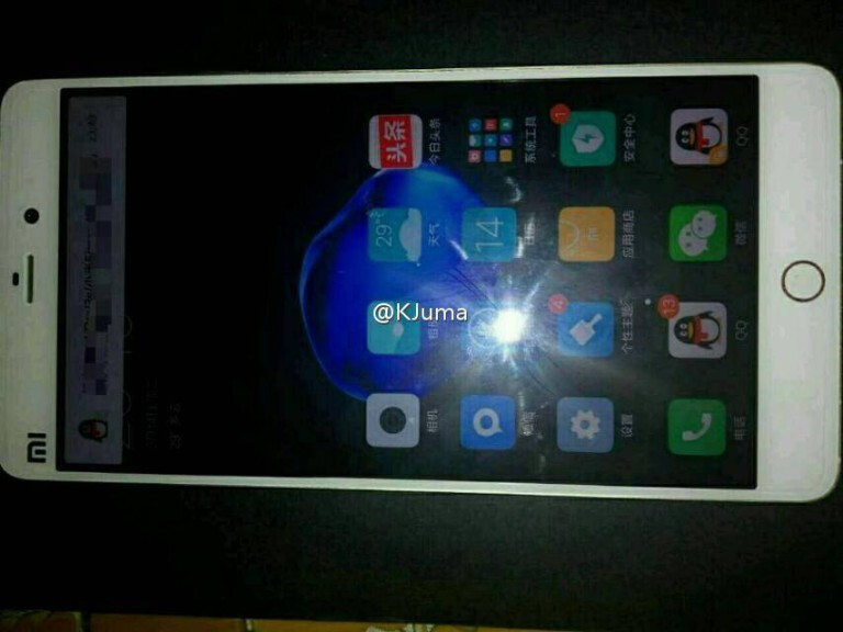 Xiaomi выпустит Mi5s Plus с5,7-дюймовым экраном