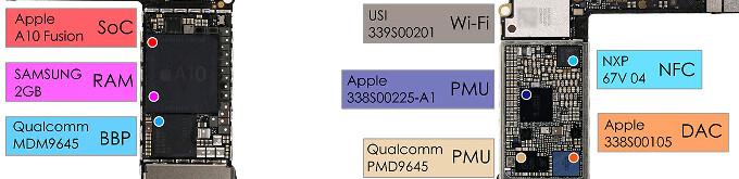 First Apple iPhone 7 teardown reveals 1960 mAh battery, 2 GB Samsung RAM
