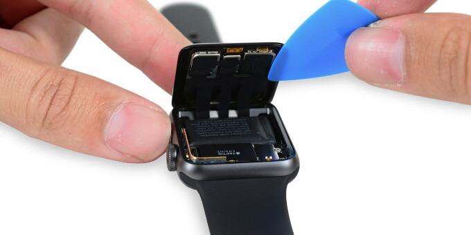 Apple Watch Series 2 teardown by iFixit reveals 273mAh battery inside, multiple gaskets