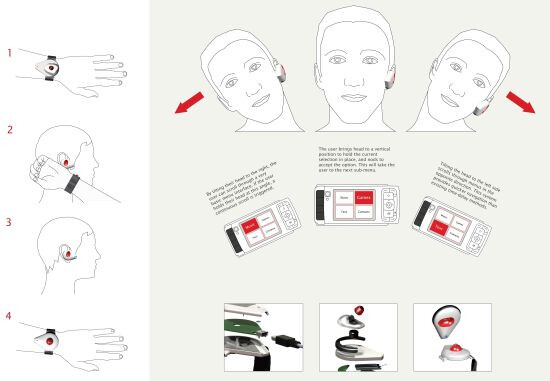 """""""Tilt"""" headset concept aims to aid those who are disabled"""