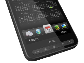 The HTC HD2 introduces a new, HTC Sense UI for Windows Mobile