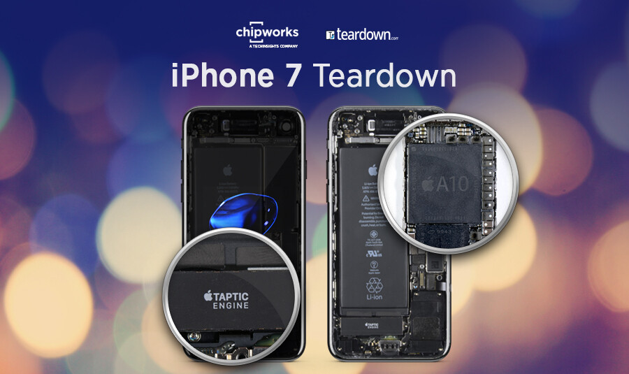 iPhone 7 teardown reveals the secrets behind the A10 chip