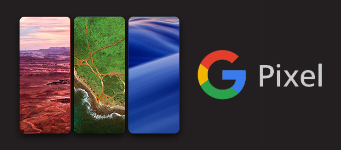 Get the Google Pixel and Pixel XL wallpapers + backgrounds app here