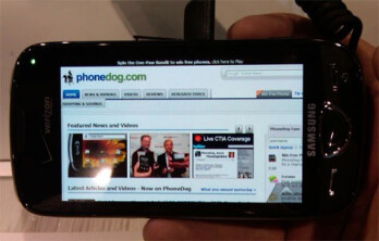 UPDATED: Samsung's Omnia II for Verizon spotted, pictured and videoed at CTIA