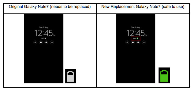Samsung forcing software update to limit Galaxy Note 7 battery to 60% maximum charge