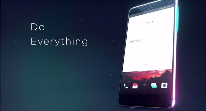 HTC designer shows concept video of a button-less HTC Ocean smartphone