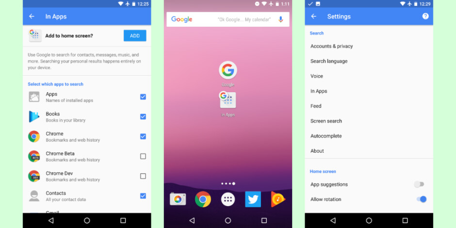 Latest Google Now beta changes the names of a couple of major features