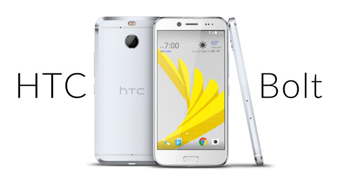 Silver HTC Bolt leaks in the clearest picture yet - looks almost identical to the HTC 10