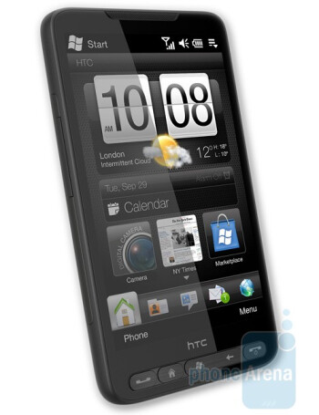 The HTC HD2 is manufacturer's first Windows phonewith Sense interface