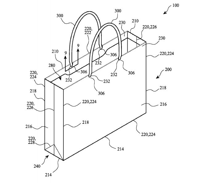 Apple has filed a patent application for a bag - Apple files a patent application for a paper bag; Team Coco introduces the Apple AirBag