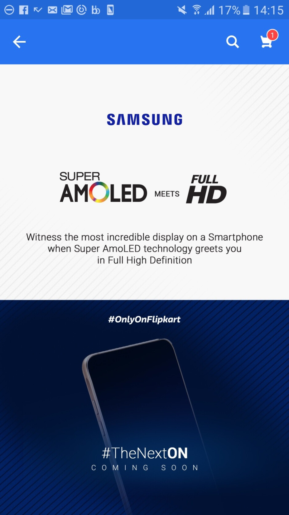 Samsung Galaxy On8 gets teased with Super AMOLED display