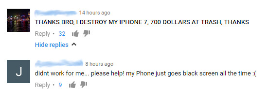 Some iPhone 7 owners appear to have taken this parody video to heart - iPhone 7 owners apparently break their devices trying to drill a new headphone jack