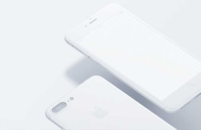 save off b5e97 8000a Matte white iPhone 7 Plus concept offers a possible glimpse of the ...