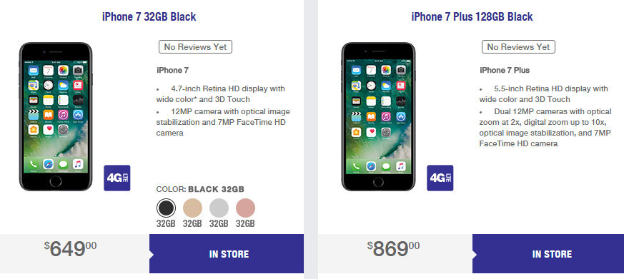 Iphone 7 And Iphone 7 Plus Coming To Metropcs But Limited Quantities Available Phonearena