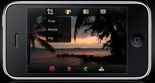 Photoshop Mobile for iPhone gives you editing abilities on the go