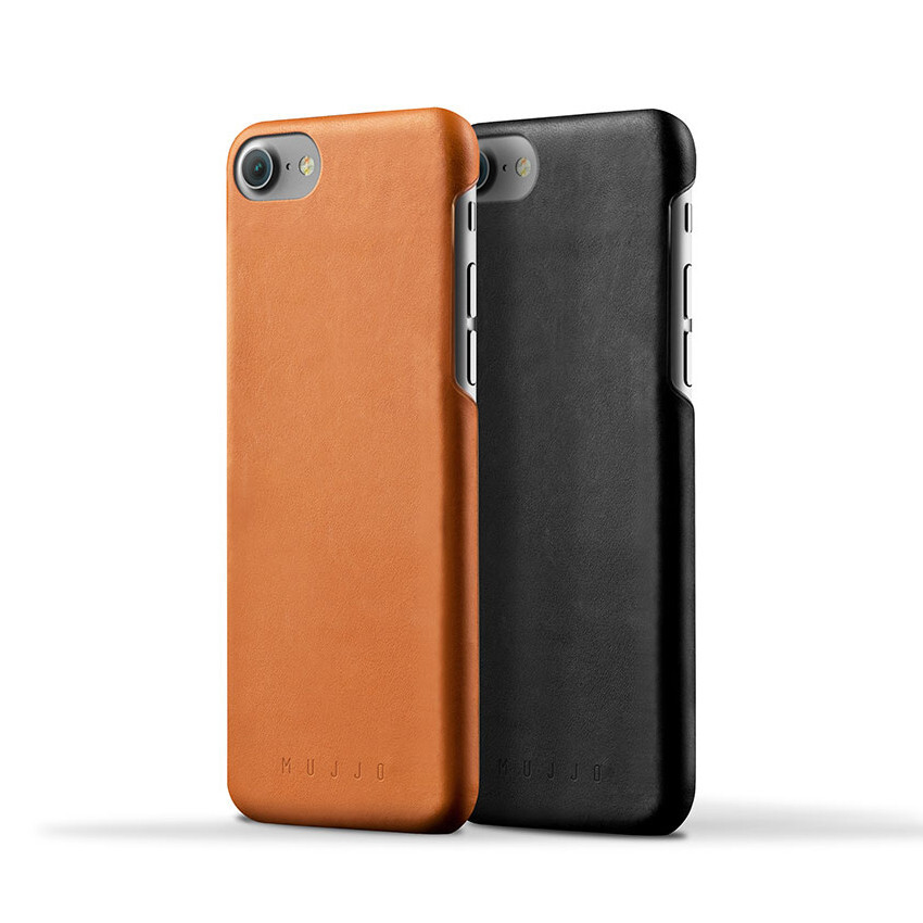 Iphone  S Leather Case Black