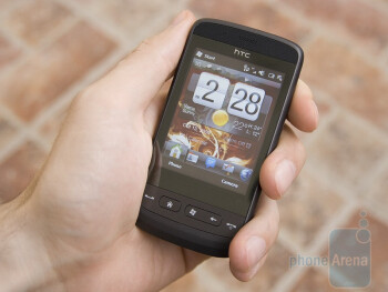 The HTC Touch2 is really compact