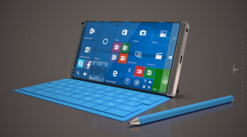 Microsoft Surface Phone Concept Sports A 6 Inch Display