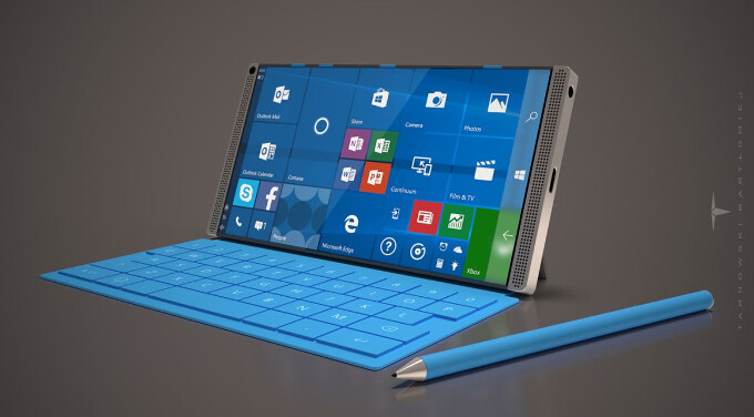 The Surface Phone remains an enigma - Microsoft Surface Phone concept sports a 6-inch display and elegant design