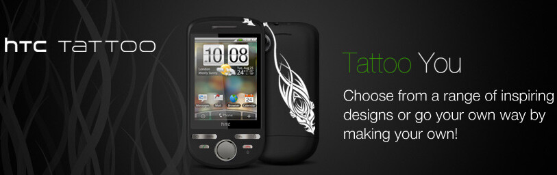 HTC starts a service that allows everyone to get a uniquely tattooed HTC Tattoo